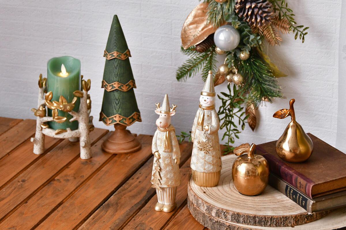 森の動物やフェアリーが集まる賑やかクリスマスヒュッゲスタイル