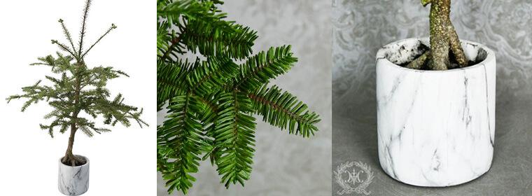 マーブルポットクリスマスツリー105cm