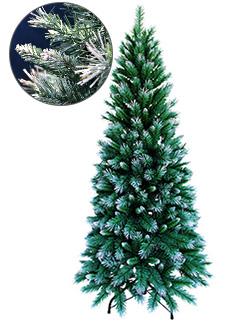 スリムフロストクリスマスツリー