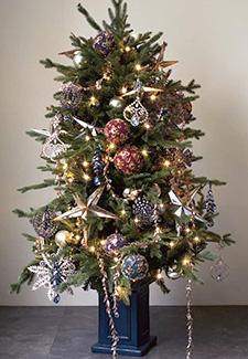 ブライスキャニオンツリーの飾りつけ例2